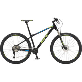 "GT Bicycles Avalanche Elite 27,5"" gloss gunmetal/cyan/black"